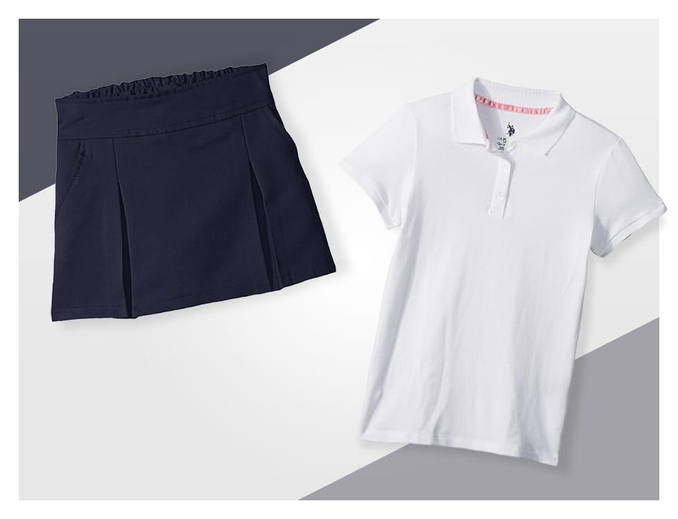 Shop Clothing Feat. School Uniforms