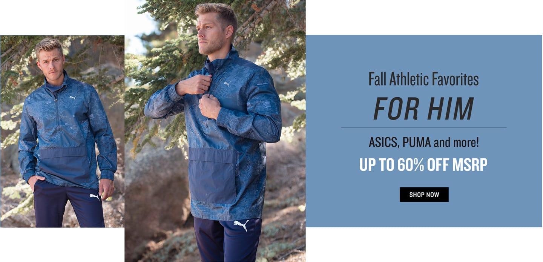 Shop Men's Fall Athletic Wear