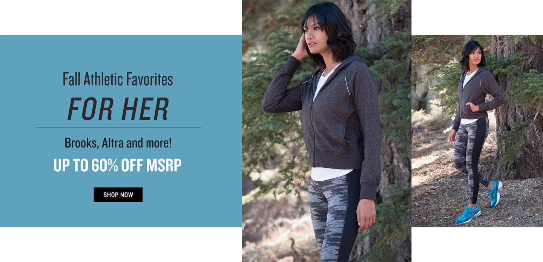 Shop Women's Fall Athletic Wear