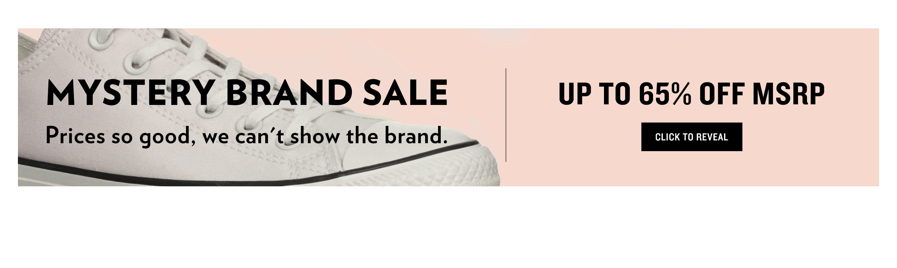 Mystery Brand up to 70% Off