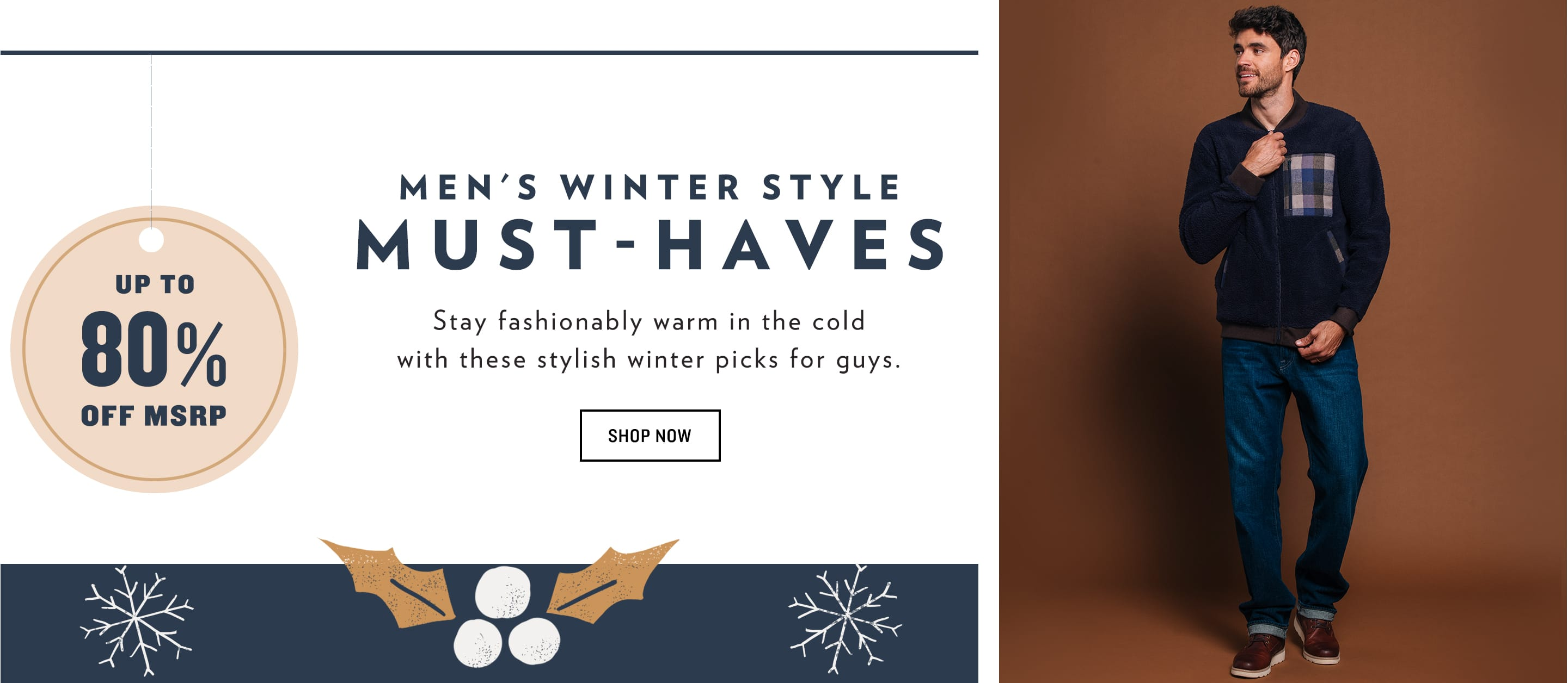 Shop All Men's Winter Style Must-Haves