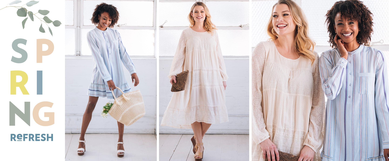 Spring Refresh: Women's Clothing