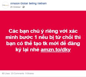 đăng ký tài khoản trên Amazon ở xác minh danh tính bước 1