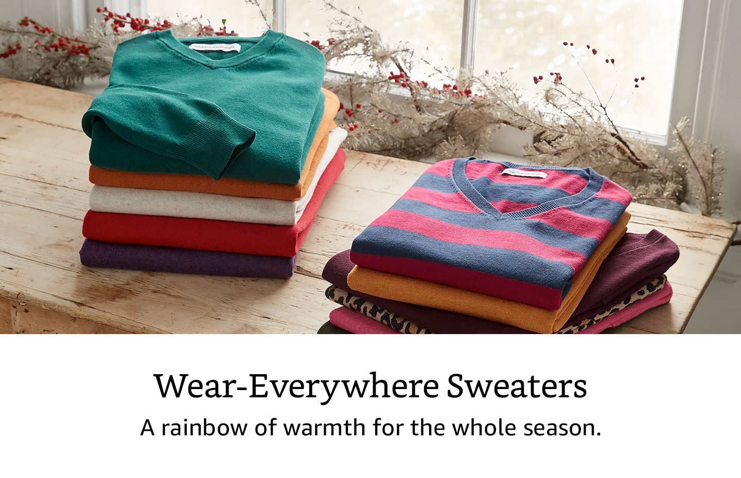 Amazon Essential Sweaters
