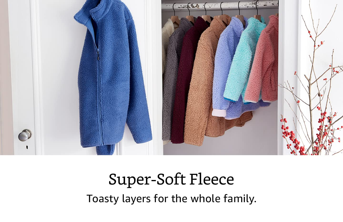 Super-soft fleece