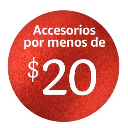 Accesorios por menos de $20
