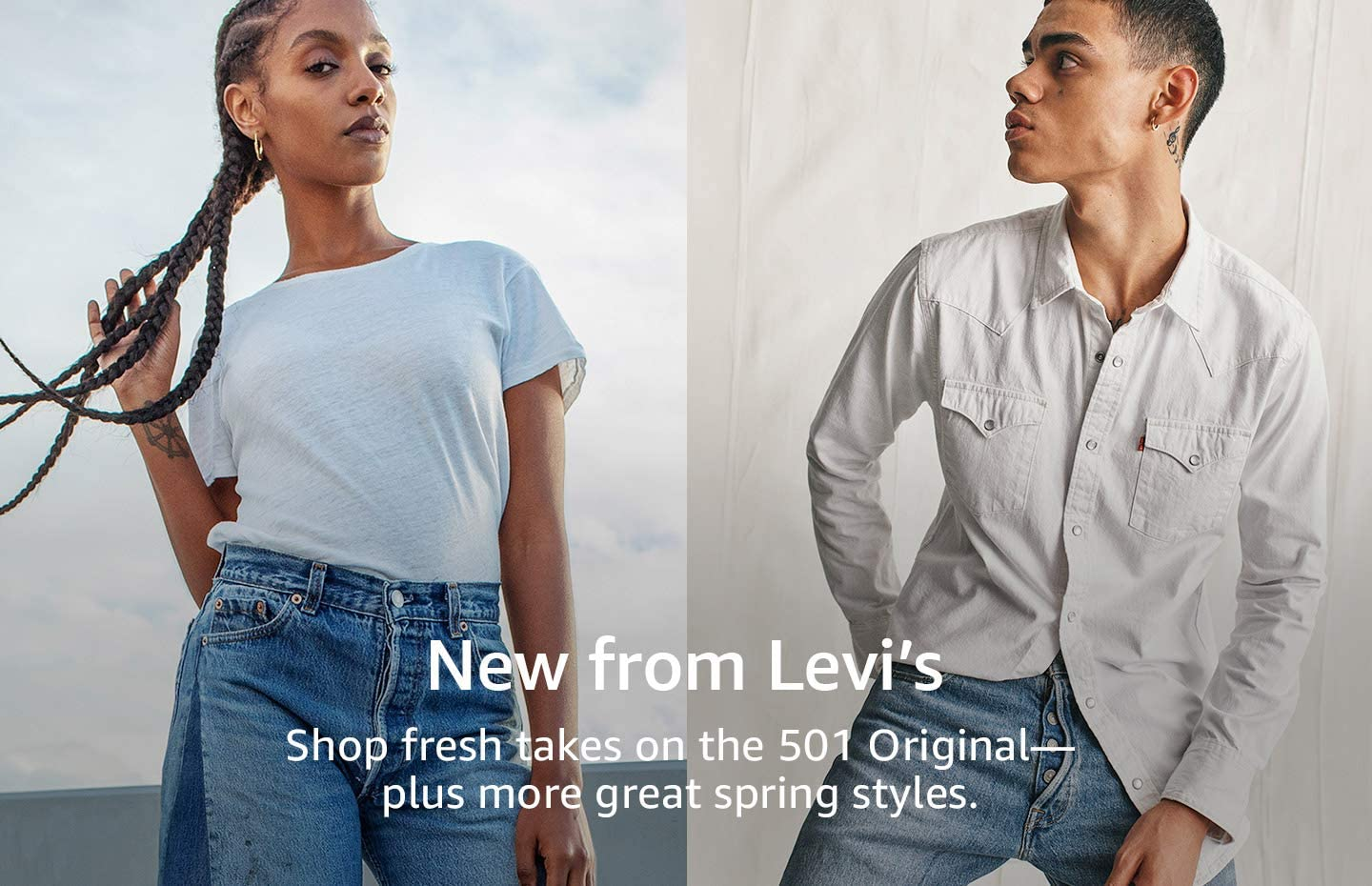 New spring styles from Levi's