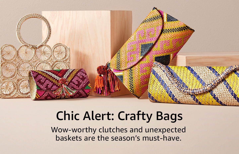 Chic Alert: Crafty Bags
