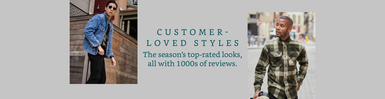 Customer-Loved Styles
