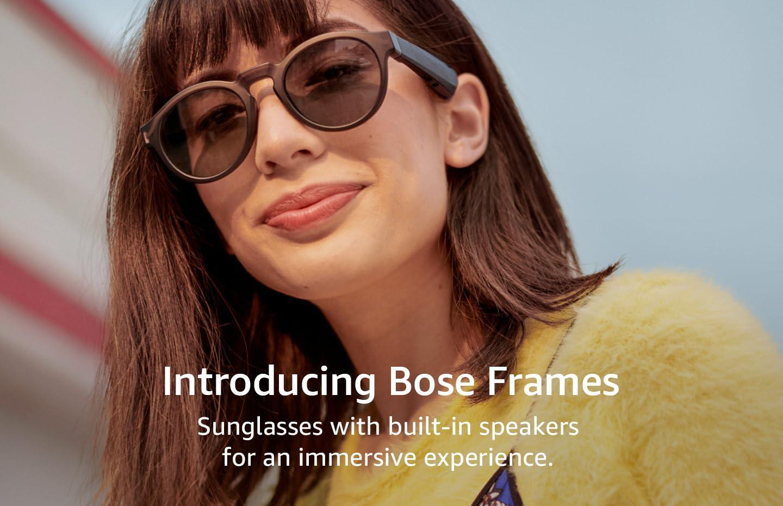 Introducing Bose Frames