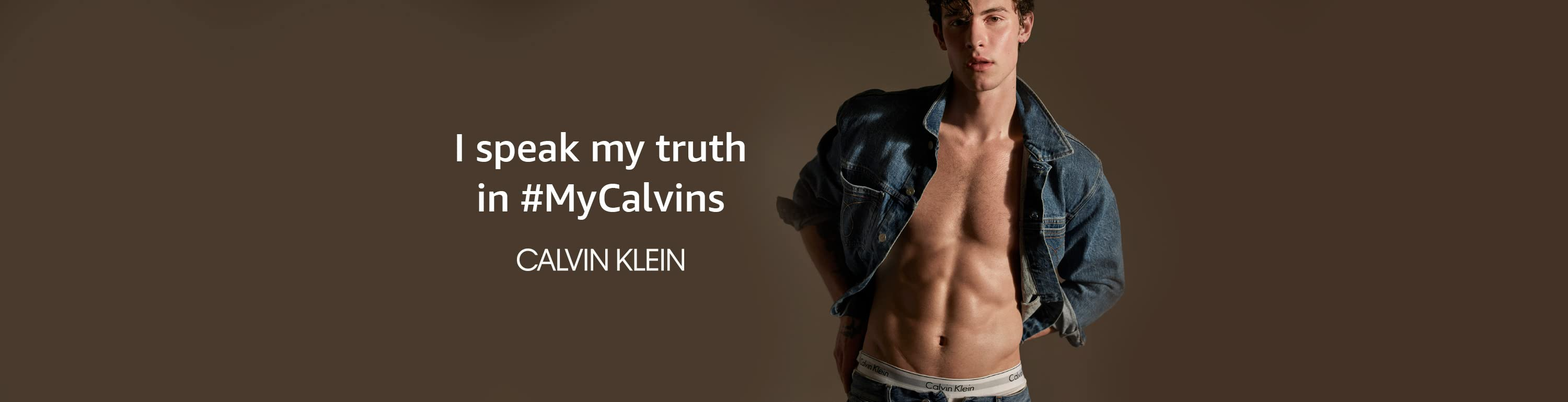 I speak my truth in #MyCalvins