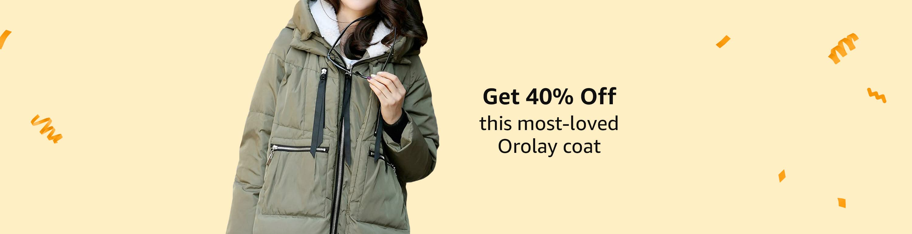 Get 40% off this most-loved Orolay coat