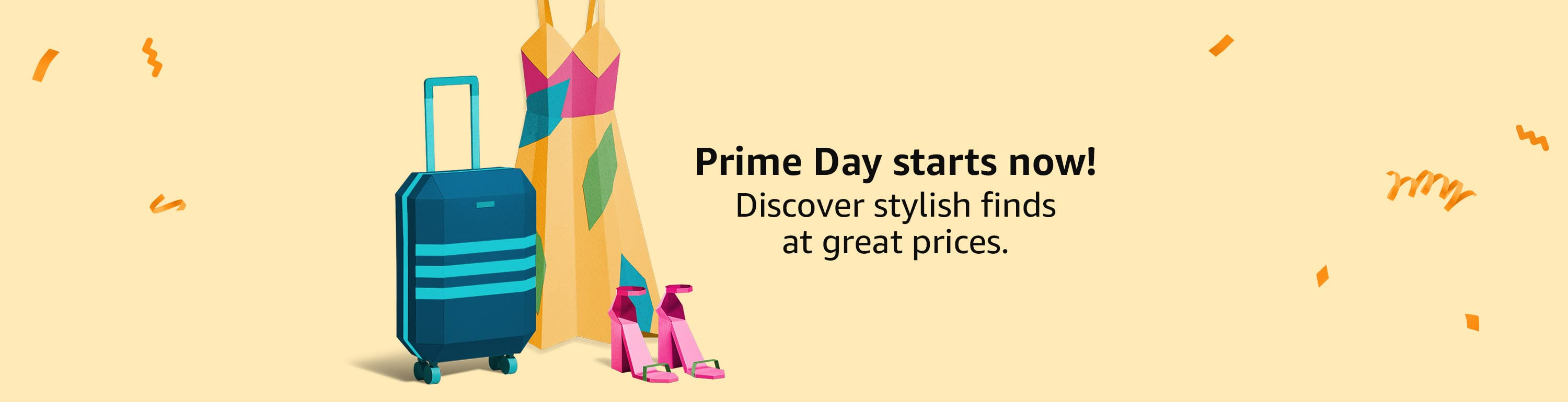 Prime Day start now!