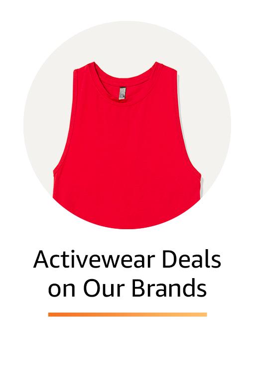 Activewear Deals on Amazon Brands