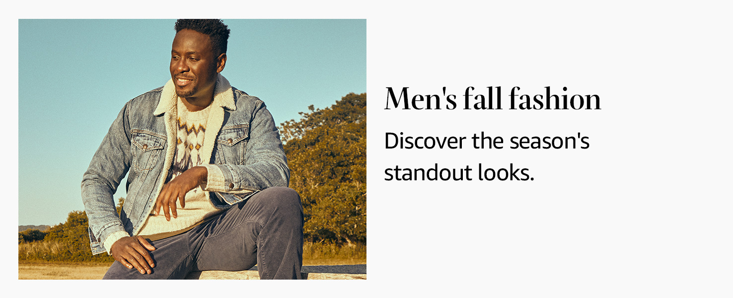 Men's Fall Style Edit