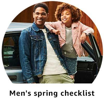 Men's spring checklist