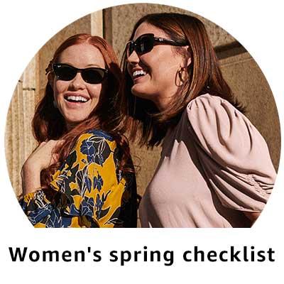 Women's spring checklist