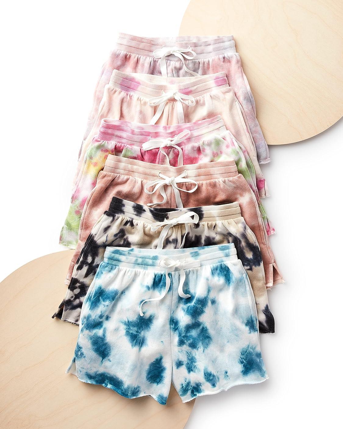 The Drop indossa Marchio Amazon - Michaela, Pantaloncini in Pile, con Tasche Laterali Donna di The Drop
