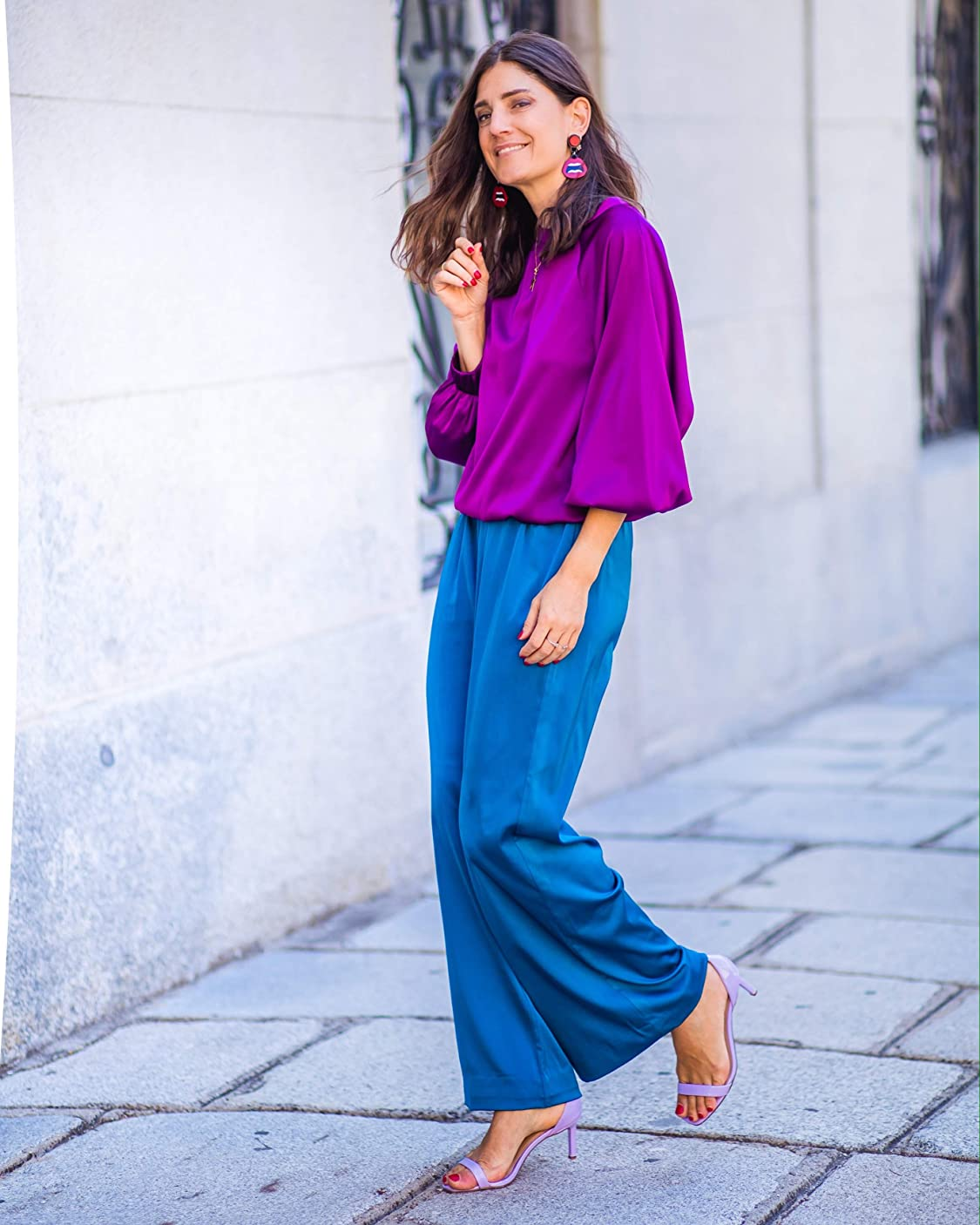 Belén Canalejo lleva The Drop Sudadera Tejida por @Balamoda - Pullover-Sweaters Mujer