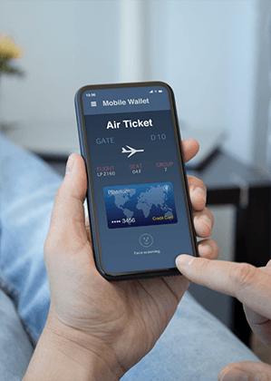 Accept airline ticket payments around the globe