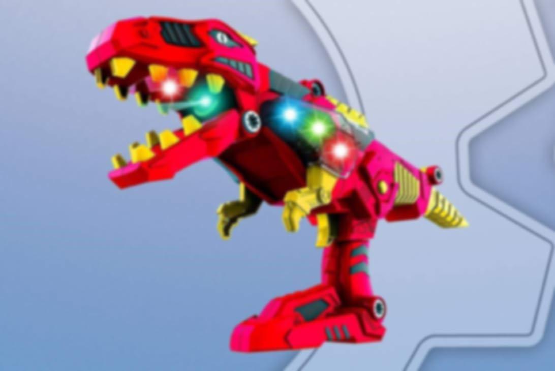 Brinquedo robô dinossauro Prestozon