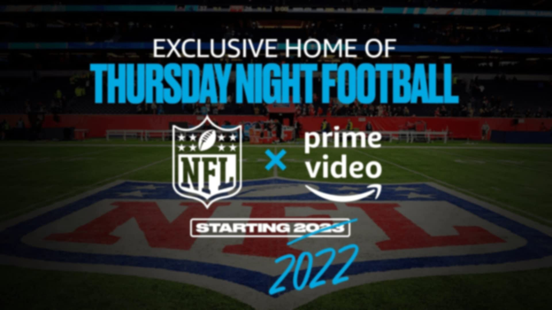 Thursday Night Football banner