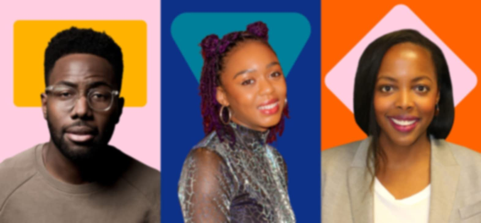 Daniel Lawrence Taylor — Timewasters, Romarna Campbell — the Romarna Campbell Trio, and Lauren Anderson — Co-Head of IMDb TV Content and Programming  respectively