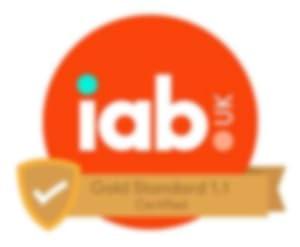 IAB UK Gold Standard 1.1 Certified