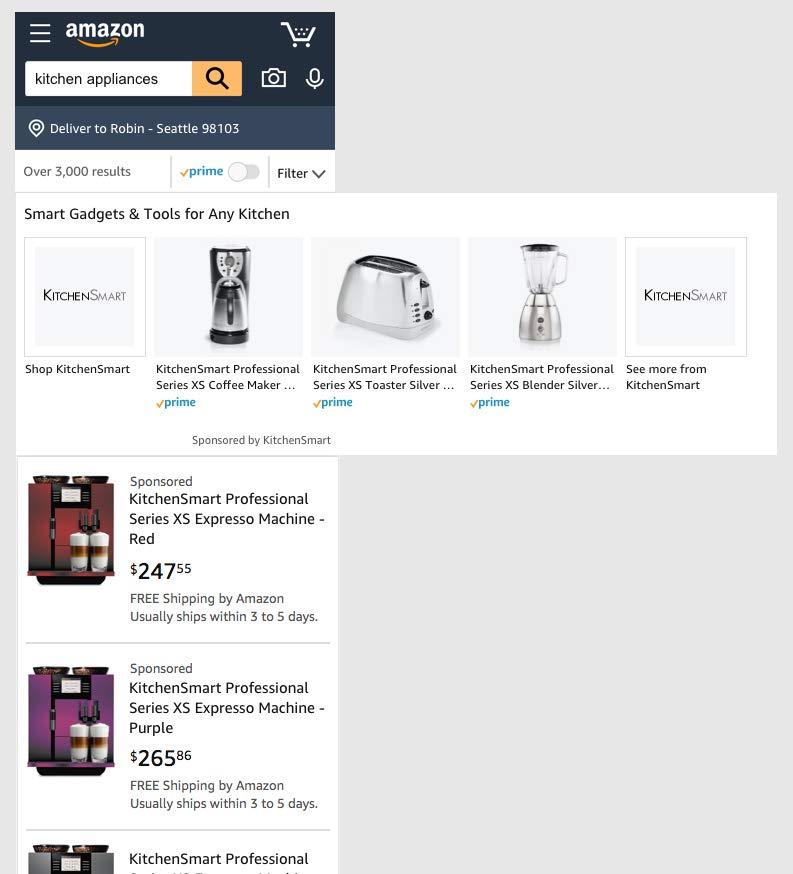New Sponsored Brands mobile format