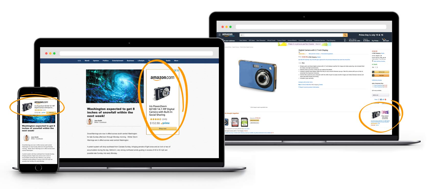 Product targeting available for US sellers on Sponsored Display | Amazon  Advertising blog