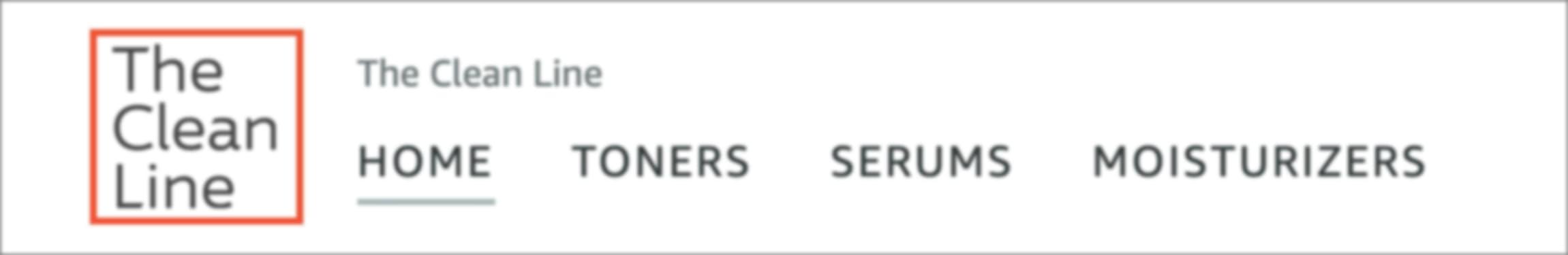 Logo section