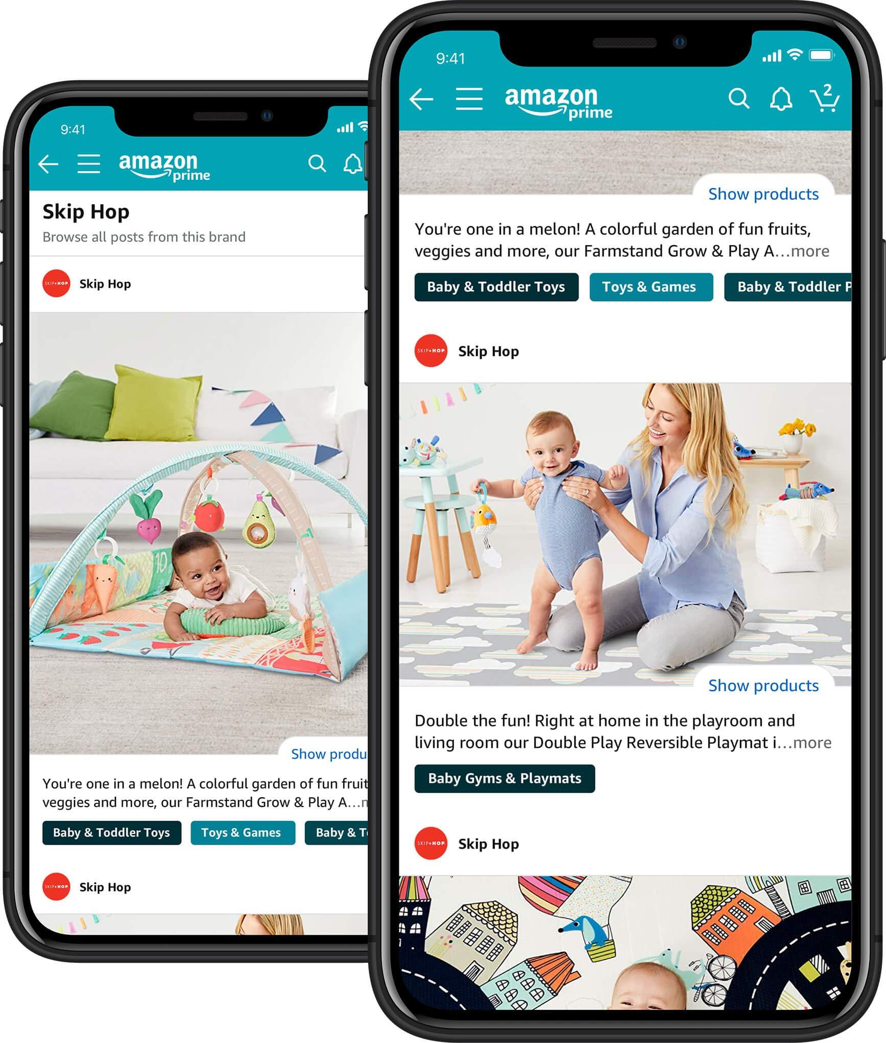 Posts (beta) – Image-led browsing on Amazon | Amazon Advertising