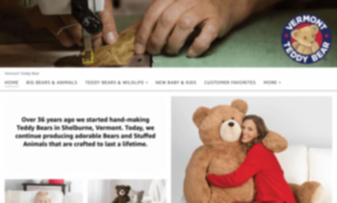 Vermont Teddy Bear Store auf Amazon.
