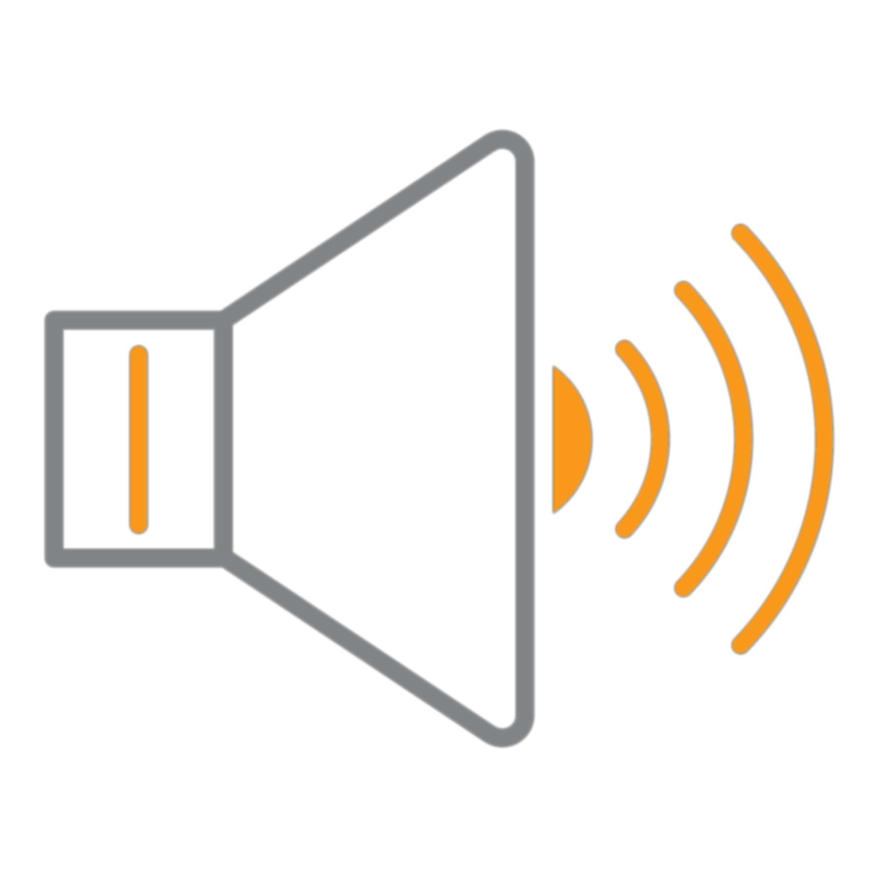 Orador fazendo um streaming de áudio
