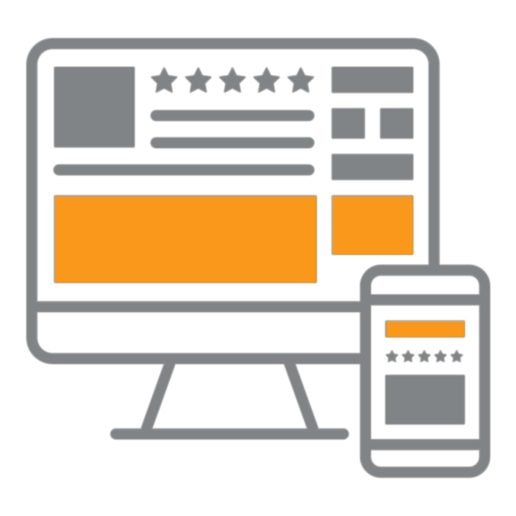 Canais de anúncios de Sponsored Display em computadores e dispositivos móveis