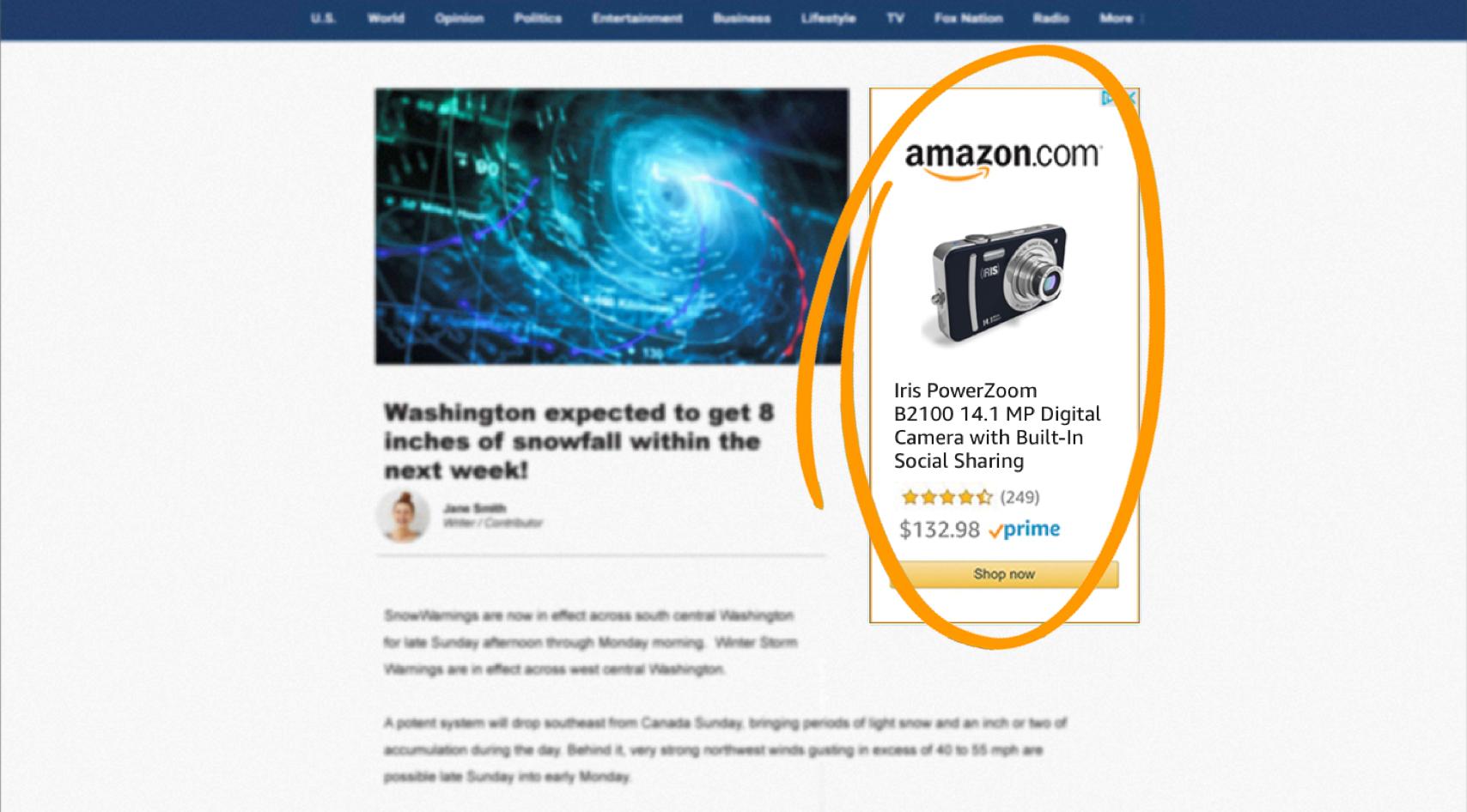 亚马逊商品展示广告