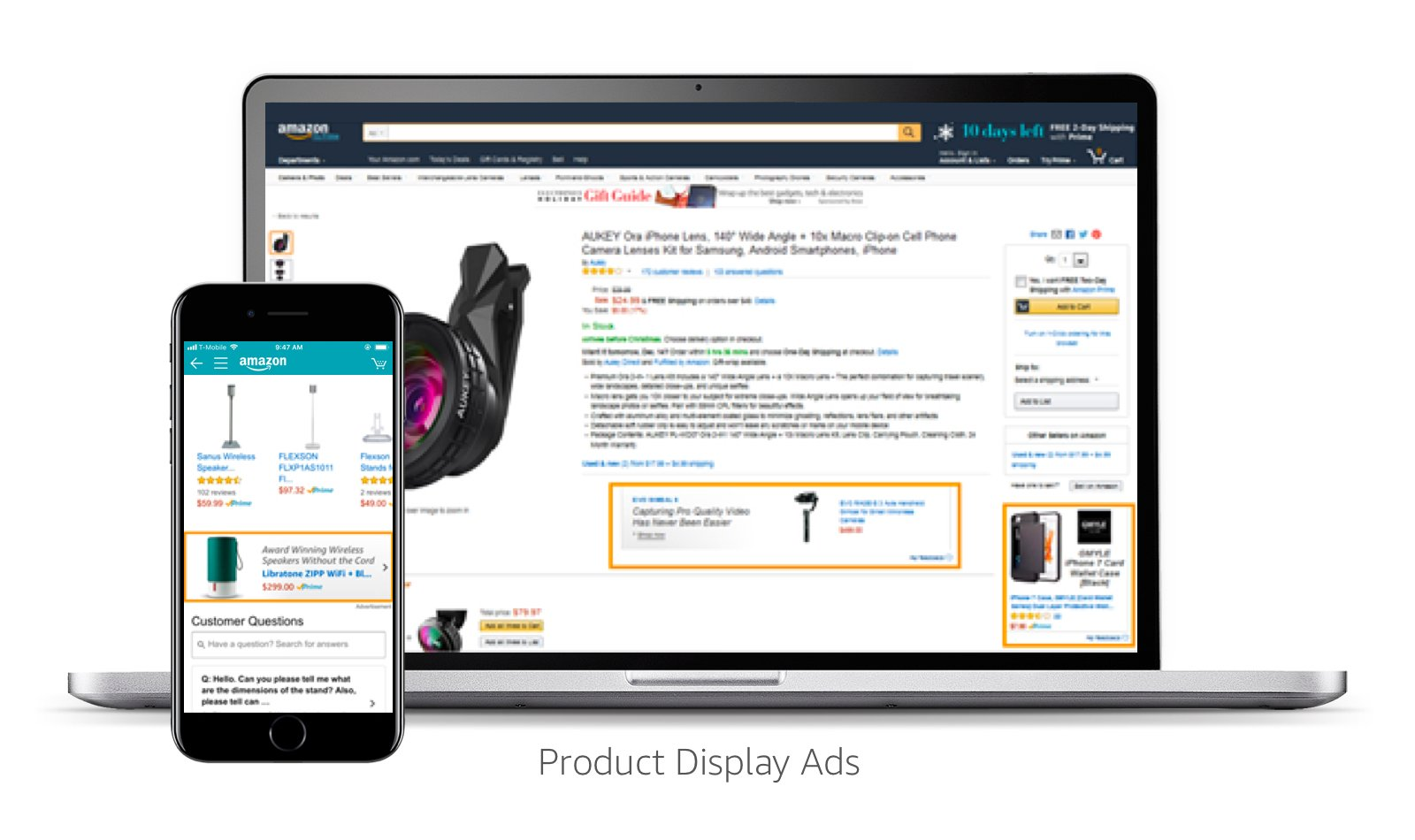 Image result for product display ads