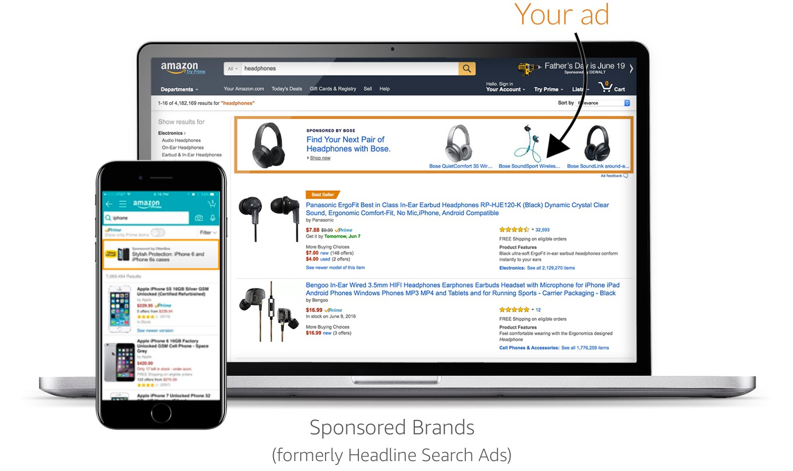 Sponsored Brands (formerly Headline Search Ads)