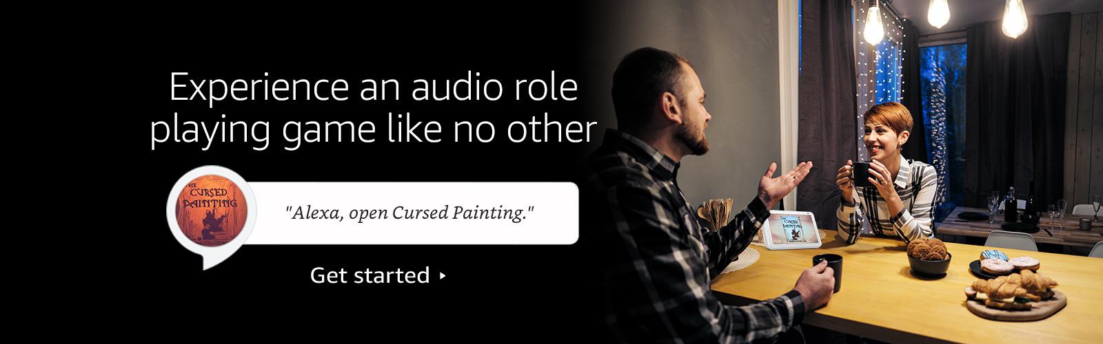 """Alexa, open Cursed Painting."""