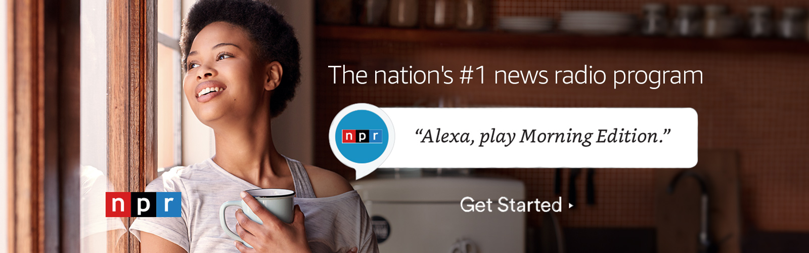 """Alexa, play Morning Edition."""