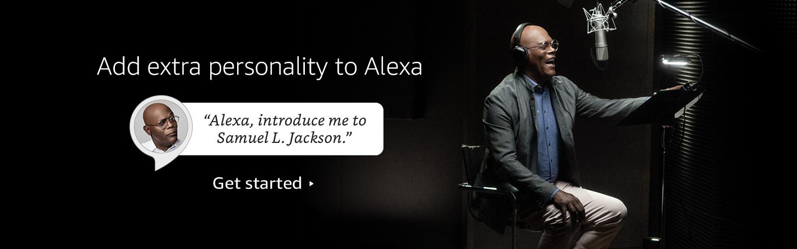 """Alexa, Introduce me to Samuel L. Jackson."""