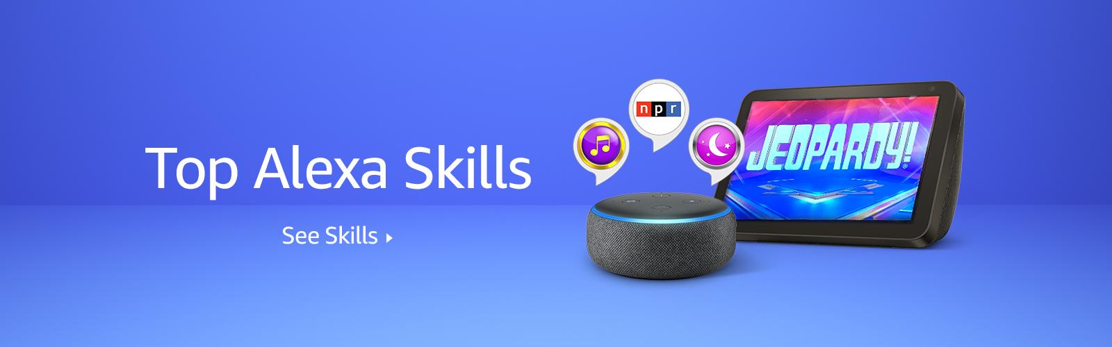Alexa's Top Skills
