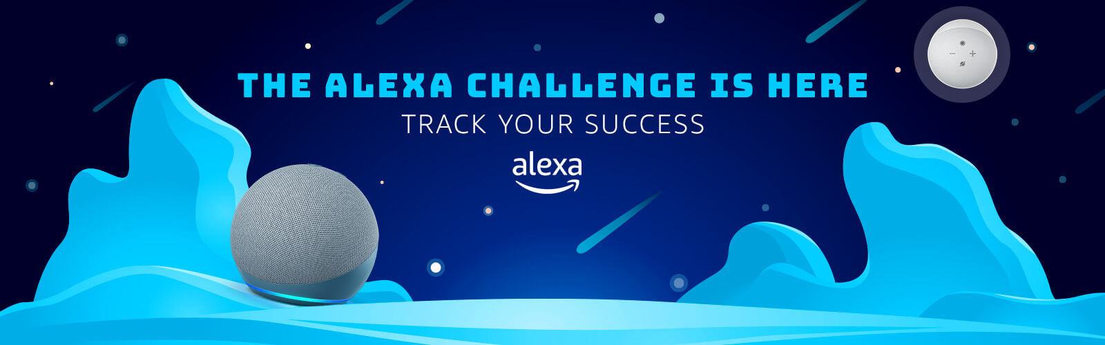 The Alexa Challenge Is Here. Track your success.
