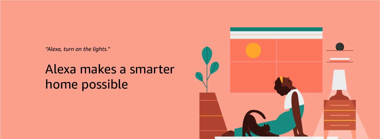 Alexa makes smarter home possible