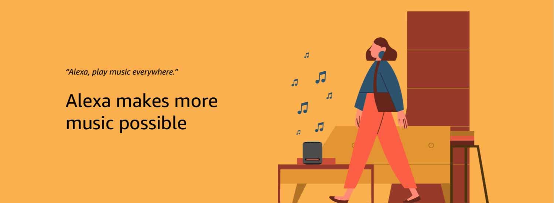 Alexa makes more music possible
