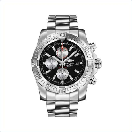 AuthenticWatches.com - Breitling Super Avenger II men's watch