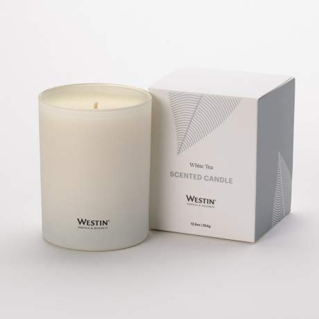 Westin Store - white tea scented candle