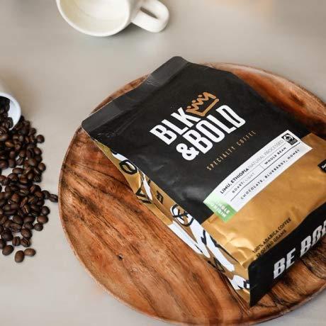 BLK & Bold - Rise & GRND coffee blend