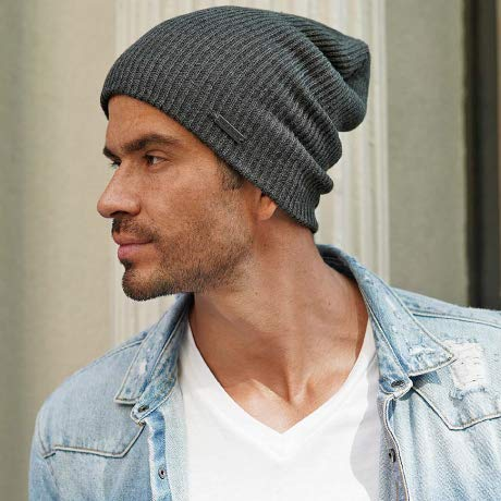 King & Fifth Supply Co. - men's slouchy beanie