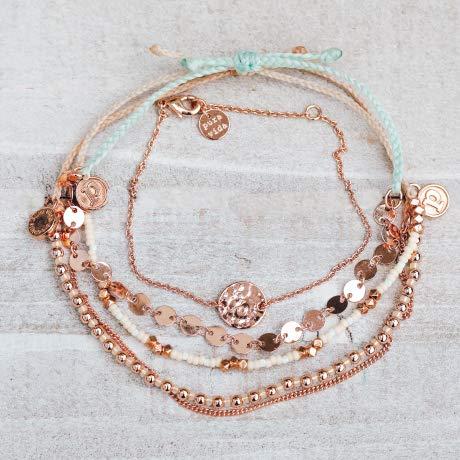 Pura Vida Bracelets - rose gold rush pack by Aspyn Ovard